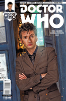 Doctor Who The Tenth Doctor Adventures: Year Two #16 (Cover B)